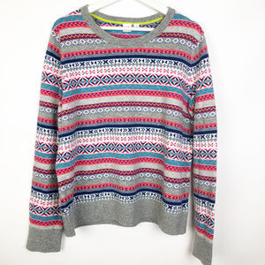 Gap | Frenzy Fair Isle crew neck sweater